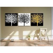 100 Hand Painted Art Large Modern Abstract Black And White Oil Painting On Canvas 3 Piece Wall Art Decor For Home Decoration Stretched Ready To Hang Jacateddisagr