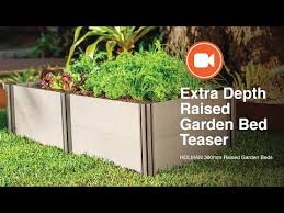 holman extra depth raised garden beds