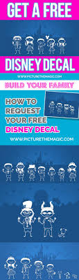 Free Disney Decal November 2020 Edition Absolutely Free From Disney