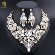 luxury flower indian bridal jewelry