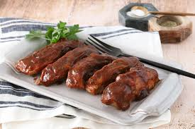 country style ribs with maple bbq sauce