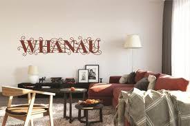 Whanau Maori New Zealand Handmade Wall Decal Etsy