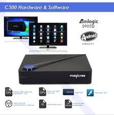 Magicsee C300 DVB S2 + T2 C TV Box Launcher – Android TV Box Review