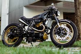 honda cx650 cafe racer by one up moto