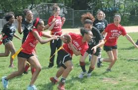 Rahway H.S. holds annual Powder Puff Football Game - nj.com