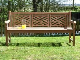 wooden teak outdoor bench belezaa