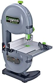 Genesis Gbs900 9 2 2 Amp Band Saw With Dust Port Tilt Table Miter Gauge And Rip Fence On Galleon Philippines