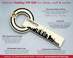 purchases for toronto key to the city