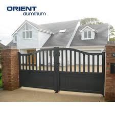 Top Level High Quality Nigeria Style Sliding Gate Design View Top Level Nigeria Style Sliding Gate Design Orient Aluminium Product Details From Shandong Orient Aluminium Co Ltd On Alibaba Com