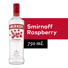 smirnoff raspberry 70 proof vodka
