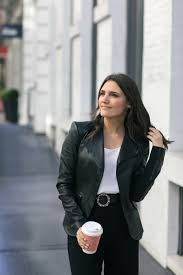 leather jacket for the office
