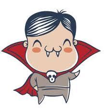 Happy Baby In Hallowen Costume Dracula Vampire Vinyl Decal Sticker Shinobi Stickers