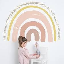 Pin By Hannah Barnes On Extension Ideas In 2020 Rainbow Wall Decal Rainbow Decal Rainbow Nursery
