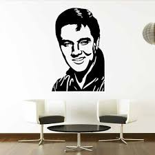 Elvis Presley Music Singer Artist Wall Decal Art Wall Sticker Picture Free Ship Ebay