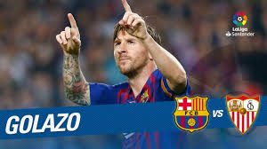 Golazo de Leo Messi (2-0) FC Barcelona vs Sevilla FC - YouTube