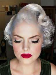 vine pinup hair makeup dianne