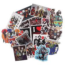R1031 Ransitute 19pcs Set Killers New Horror Theme Scrapbooking Stickers Decal For Guitar Laptop Luggage Car Fridge Sticker Tablet Decals Aliexpress