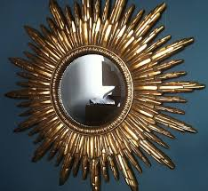 fair gold sunburst mirror mirror