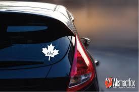 Canadian Eh Car Decal Maple Lead Car Sticker Car Vinyl Leaf Car Car Car Decals