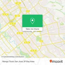 mango tours san jose in san jose by bus
