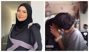 Singer Nora Ariffin admits teen daughter made out with a boy on TikTok    Coconuts KL
