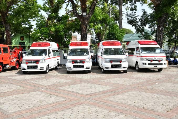 """Image result for Kerja Sama dengan Jepang, Sulsel Terima 38 Unit Ambulans & Damkar"""""""
