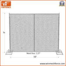 China 6ft X 10ft Temporary Chain Link Fence Covered With Shade Cloth Construction Temporary Fence Panels China Temporary Fence Temporary Fencing Panels