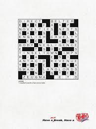 KitKat | JWT | Crossword Puzzle | WE LOVE AD