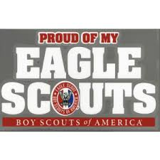 Sticker Decals Boy Scouts Of America