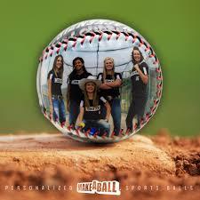 custom senior night softball gift