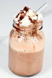 healthier homemade mocha frappuccino