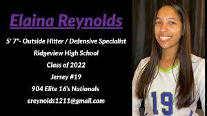 Elaina Reynolds Tri-City Showcase Volleyball 2020 - YouTube
