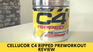 cellucor c4 ripped review do fat