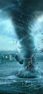 tornado iphone x wallpaper