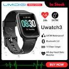 UMIDIGI Uwatch3 Smart Watch Men Women 5ATM Waterproof Fitness