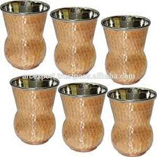 stainless steel copper hammered water