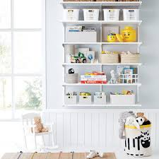 Elfa Classic 4 Kids Playroom Shelving The Container Store