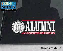 Uga Arch Alumni Decal