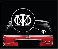 Dream Theater Majesty Music Band Window Decal Sticker Custom Sticker Shop Band Stickers Music Bands Window Decals