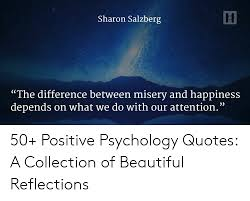 sharon salzberg the difference between misery and happiness
