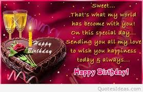 happy birthday love quotes messages