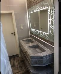 wall mounted single side led bathroom