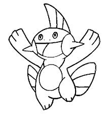 Kleurplaten Pokemon Marshtomp Kleurplaten Pokemon