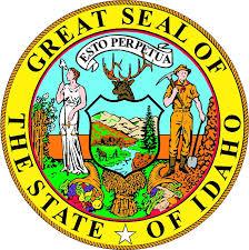 Idaho Usa State Vintage Emblem Car Bumper Sticker Decal Sizes