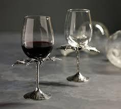 bat wine glass pottery barn