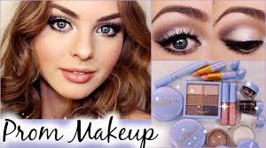 prom makeup tutorial using mac