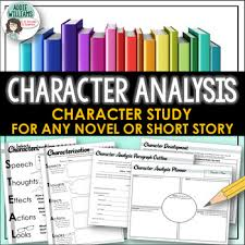 Character Analysis / Study and Characterization Activity by Addie ...