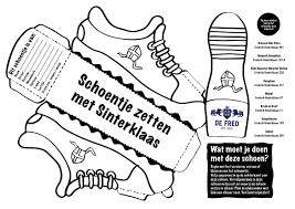 Schoen Kleurplaat Vouwen Sinterklaas Check More At Https