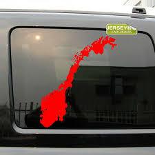 Norwegian Pride Car Window Fun Sticker Norway Scandinavia Nordic Norge Decal 3 89 Picclick