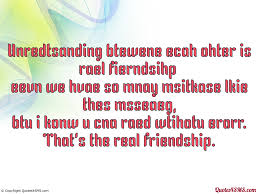 quotes about understanding between friends quotes
